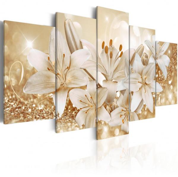 Tablou - Golden Bouquet