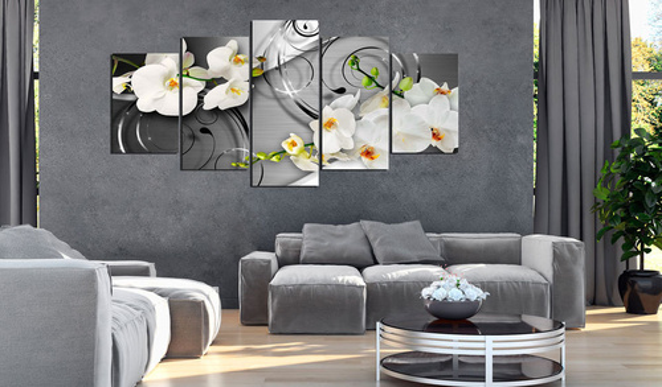 Tablou - Milky orchids