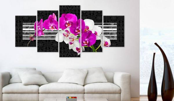Tablou - Modest orchids