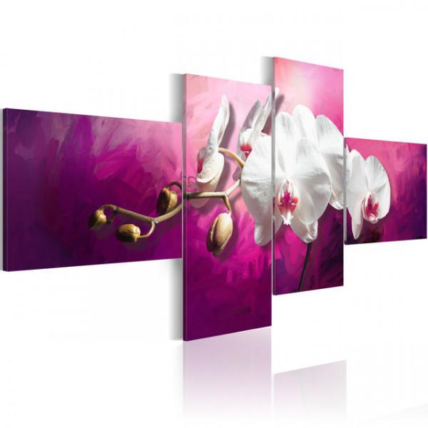 Tablou - Orchids in violets
