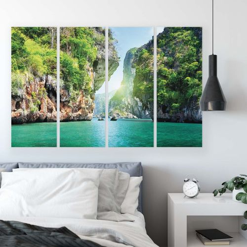 Tropical Canvas Photo Print