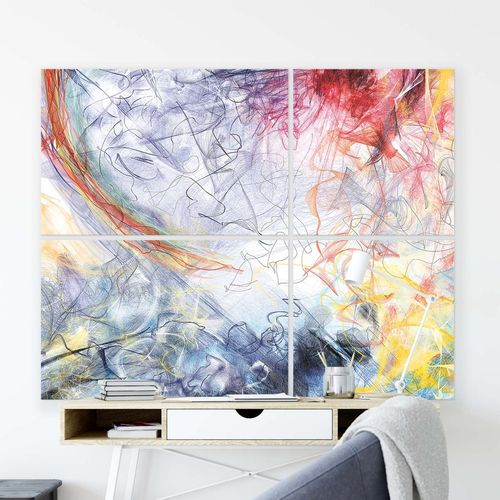 Abstract Canvas Photo Print