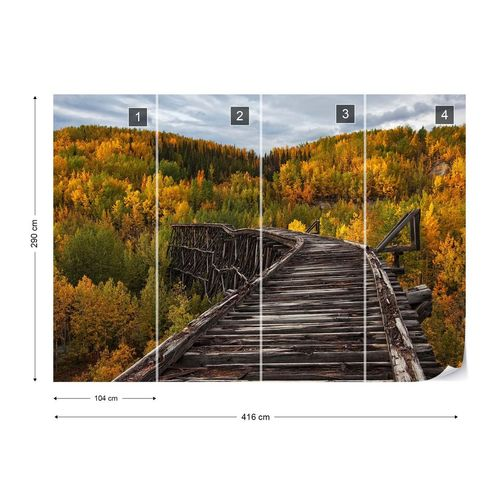 Bridge To Nowhere Photo Wallpaper Mural
