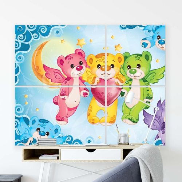 Care Bears Canvas Photo Print