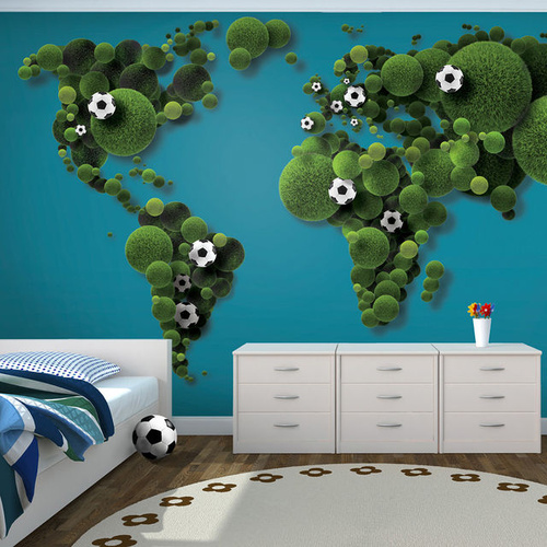 Poze Fototapet - A World of football