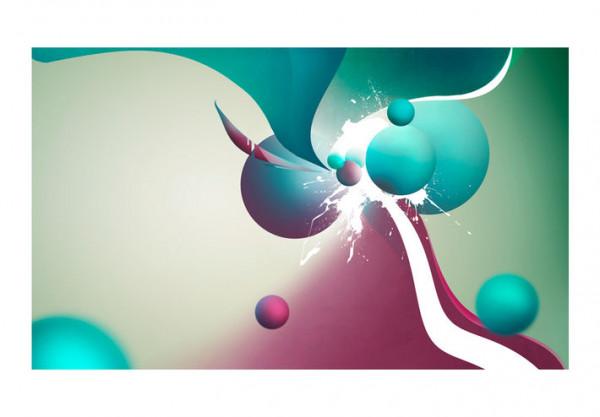 Fototapet - Explosion of colors