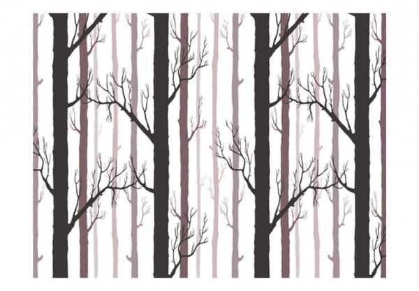 Fototapet - Forest pattern