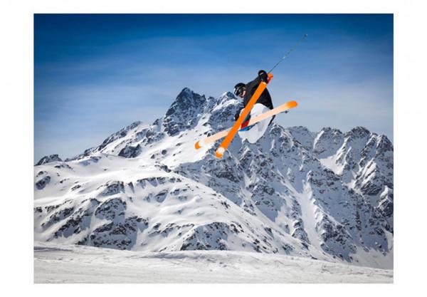 Fototapet - Mountain ski