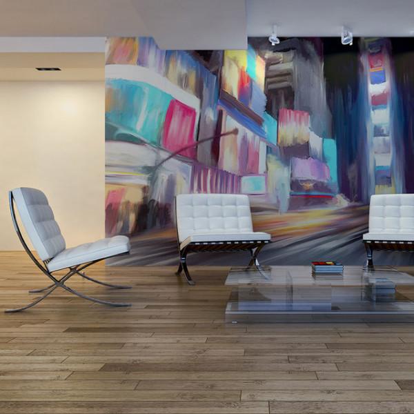 Fototapet - New York, dynamics and colors