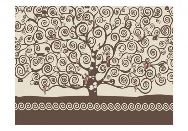 Fototapet - Spiral branches
