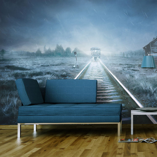 Poze Fototapet - The ghost train