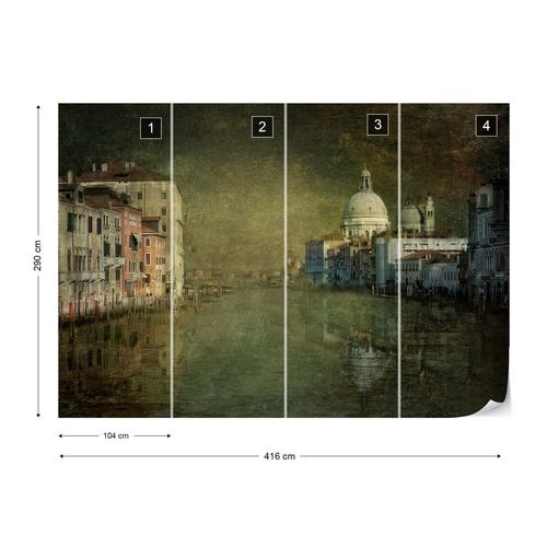 Grand Canal Impression Photo Wallpaper Mural
