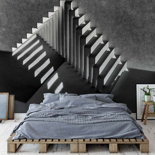 Lines And Shadows Photo Wallpaper Mural