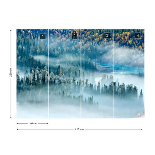 Magic Bay Photo Wallpaper Mural