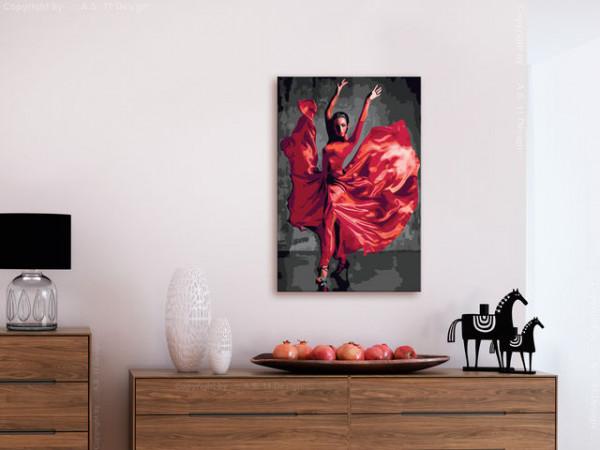 Pictatul pentru recreere - Red Dress