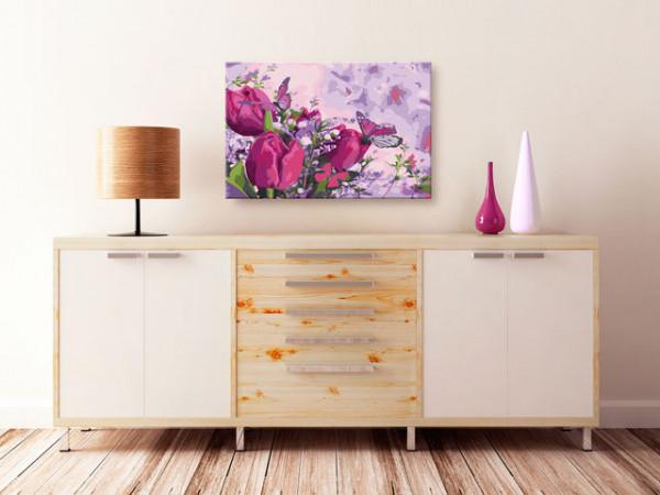 Pictatul pentru recreere - Tulips (Meadow)