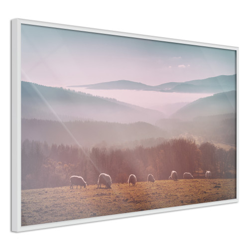 Poster - Mountain Pasture
