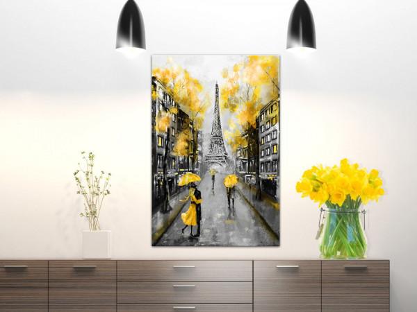 Tablou - Autumn in Paris (1 Part) Vertical