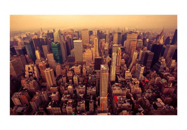 Fototapet - Bird Eye View Of Manhattan, New York