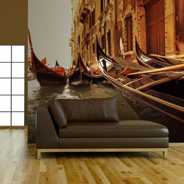 Fototapet - Charming gondolas