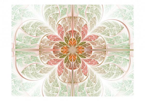 Fototapet - Fractal flower