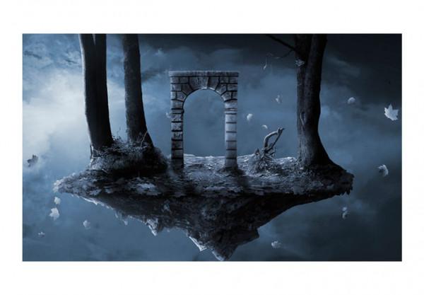 Fototapet - gate - fantasy