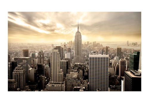 Fototapet - New York - Manhattan at dawn