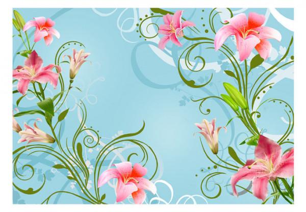 Fototapet - Subtle beauty of the lilies II