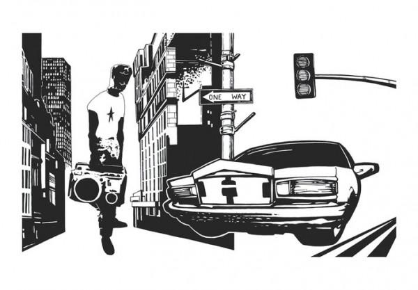 Fototapet - Urban style