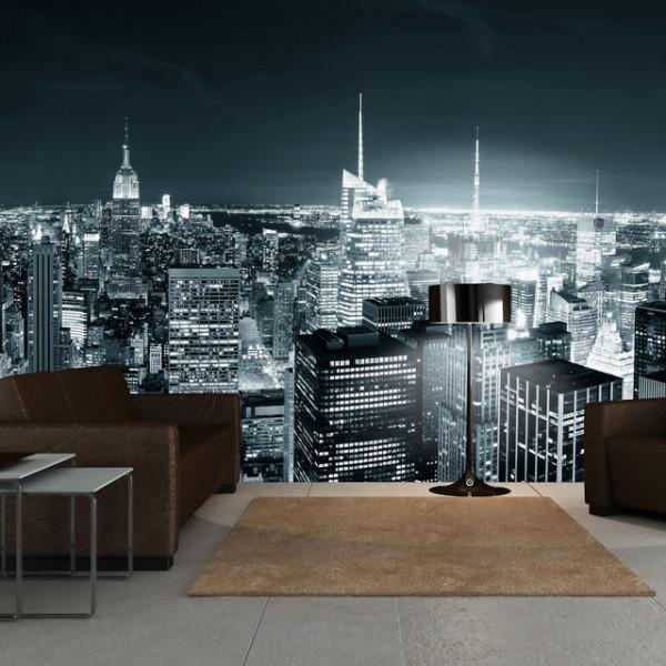 Fototapet XXL - New York City nightlife