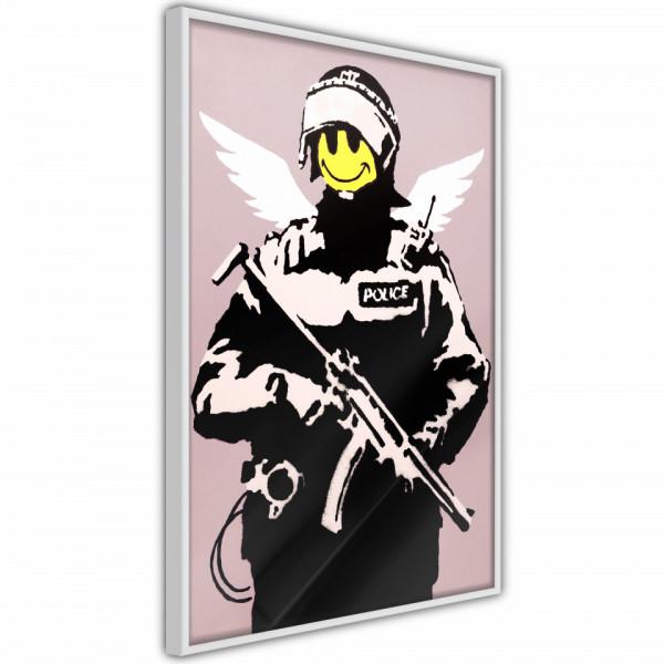 Poster - Banksy: Flying Copper
