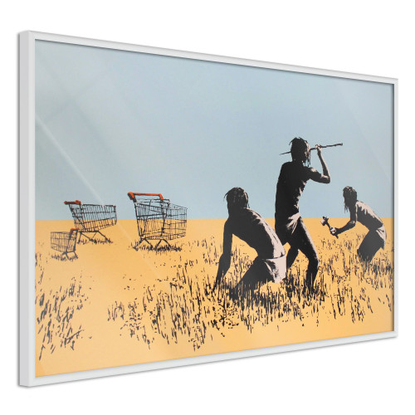Poster - Banksy: Trolley Hunters