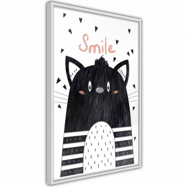 Poster - Cheerful Kitten