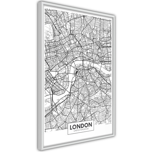 Poster - City Map: London