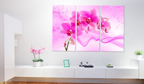 Tablou - Ethereal orchid - pink