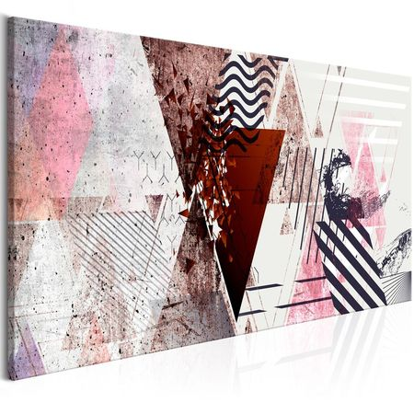 Tablou - Geometric Background (1 Part) Narrow