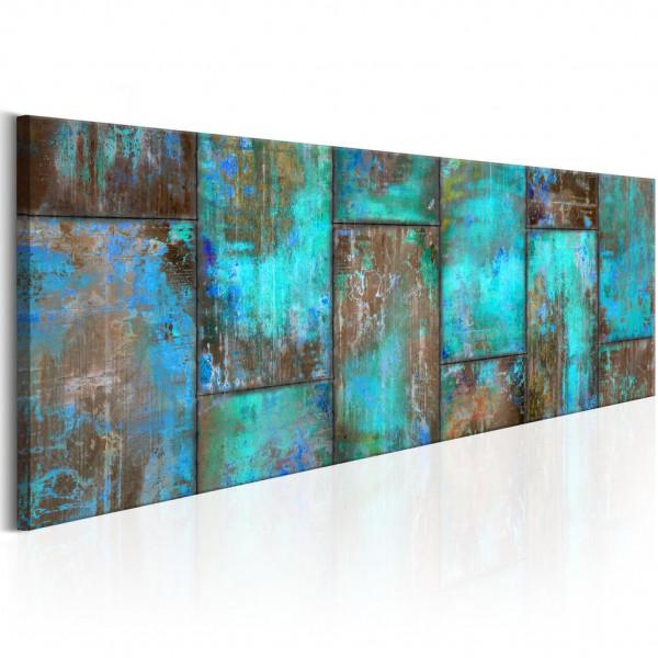 Tablou - Metal Mosaic: Blue