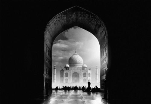 Taj Mahal Photo Wallpaper Mural