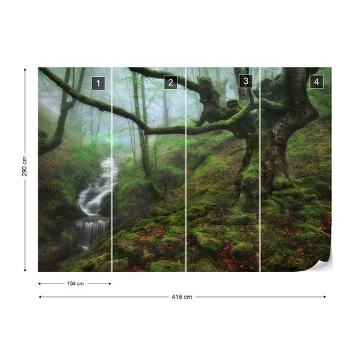 The Enchanted Forest Photo Wallpaper Mural