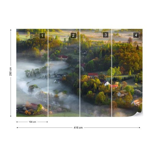 Very Early Spring Photo Wallpaper Mural