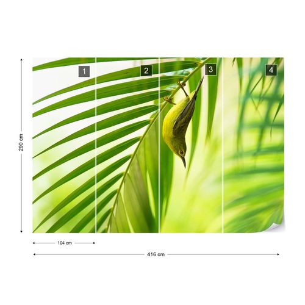 50 Shades Of Green Photo Wallpaper Mural