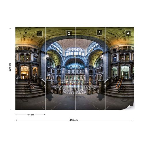 Central Station Photo Wallpaper Mural