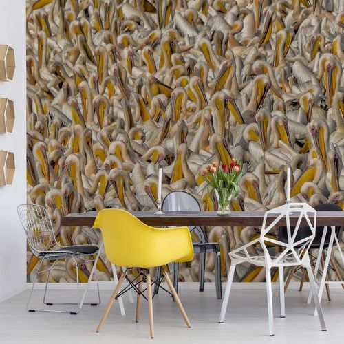 Crowded Photo Wallpaper Mural