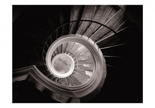 Fototapet - Circular staircase in cistercian monastery, Sedlec in Kutna Hora