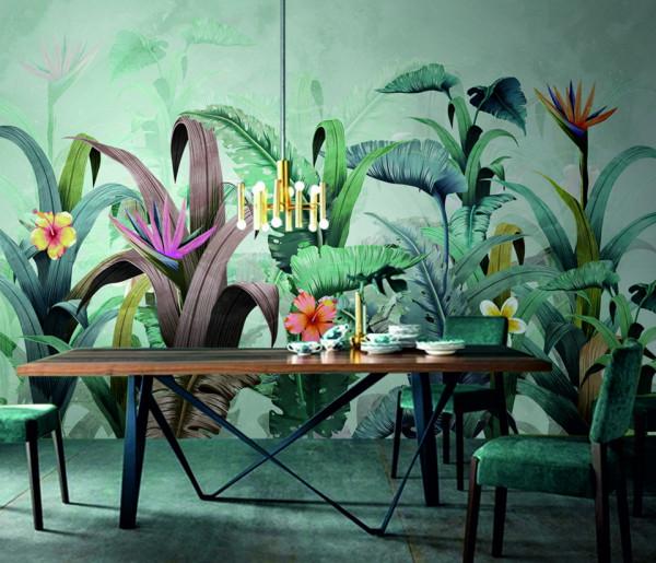 Fototapet - Frunze tropicale
