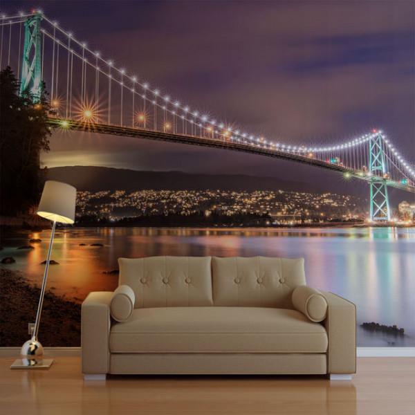 Fototapet - Lions Gate Bridge - Vancouver (Canada)