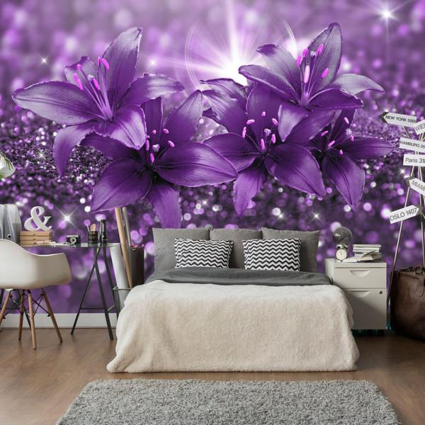 Fototapet - Masterpiece of Purple