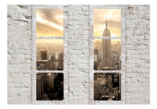 Poze Fototapet - New York: view from the window