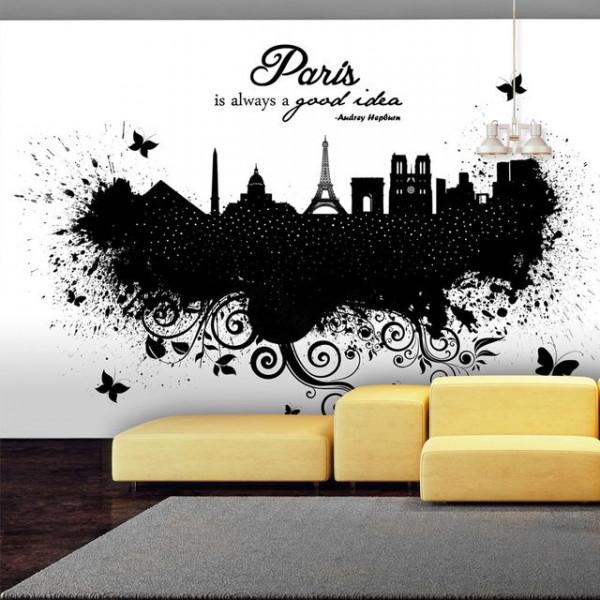 Fototapet - Paris is always a good idea