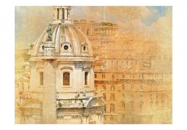Fototapet - Rome - vintage